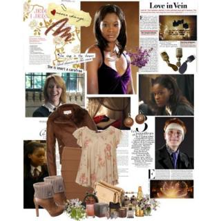 Angelina Johnson And Fred Weasley
