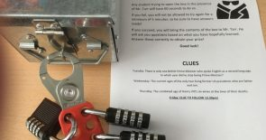 "Using ""unlock the chest!"" puzzles to develop out-of-class learning"