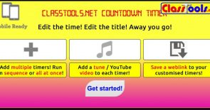 Countdown timer with sound effects: run several in sequence or even simultaneously