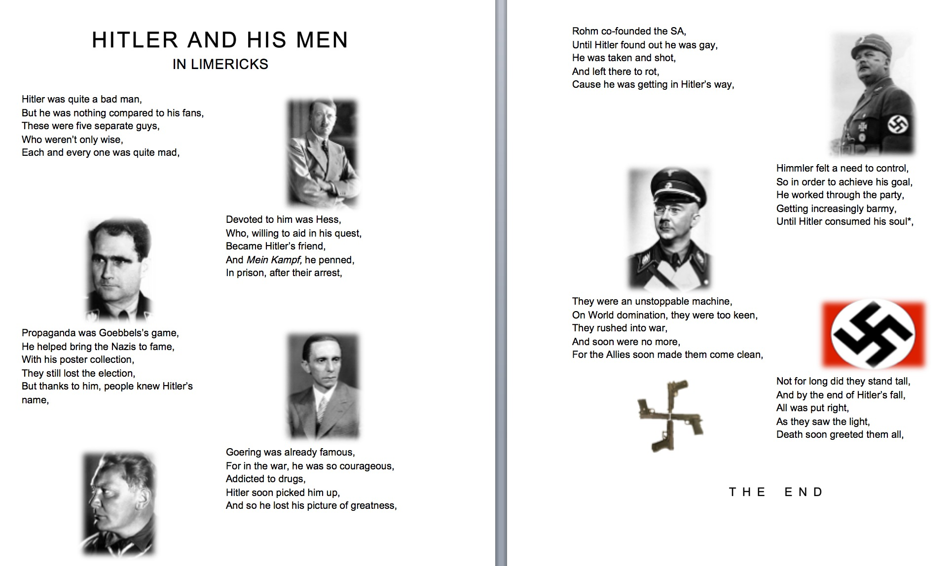 Using limericks as a revision tool