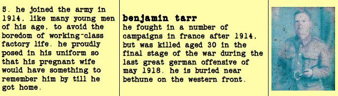 Ben Tarr Character Card