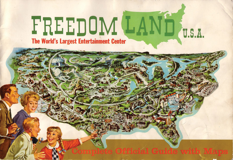 Freedom Land USA: a genuine 1960s theme park celebrating US history