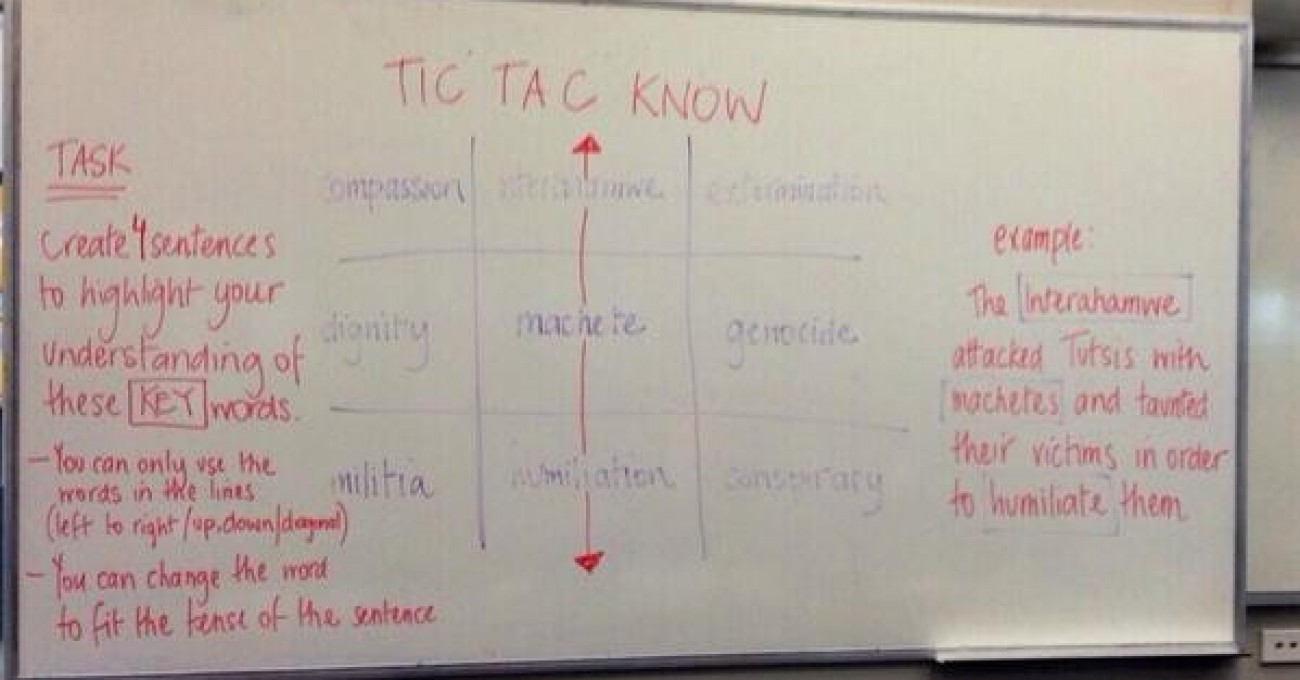 Tic Tac Know