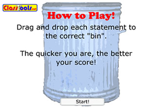 dustbin game generator