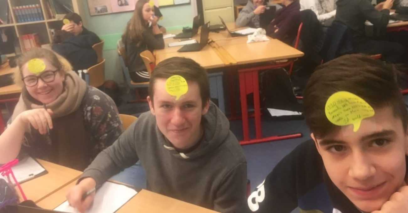 Sticky Notes for Silent Presentations