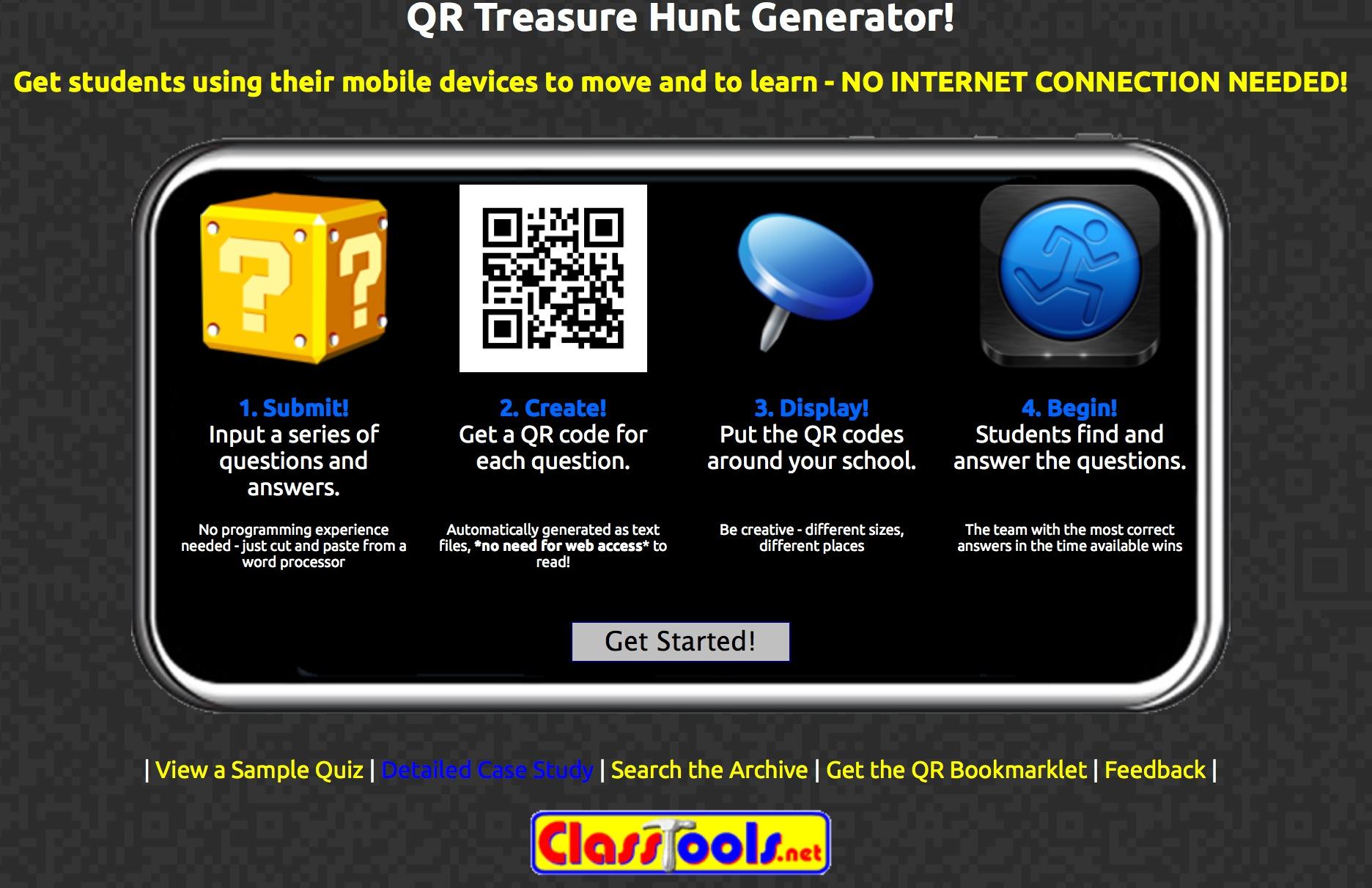 QR Code Treasure Hunt