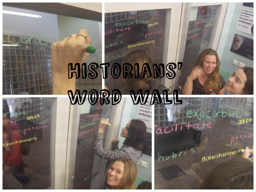 Turn Classroom Windows into Word Walls